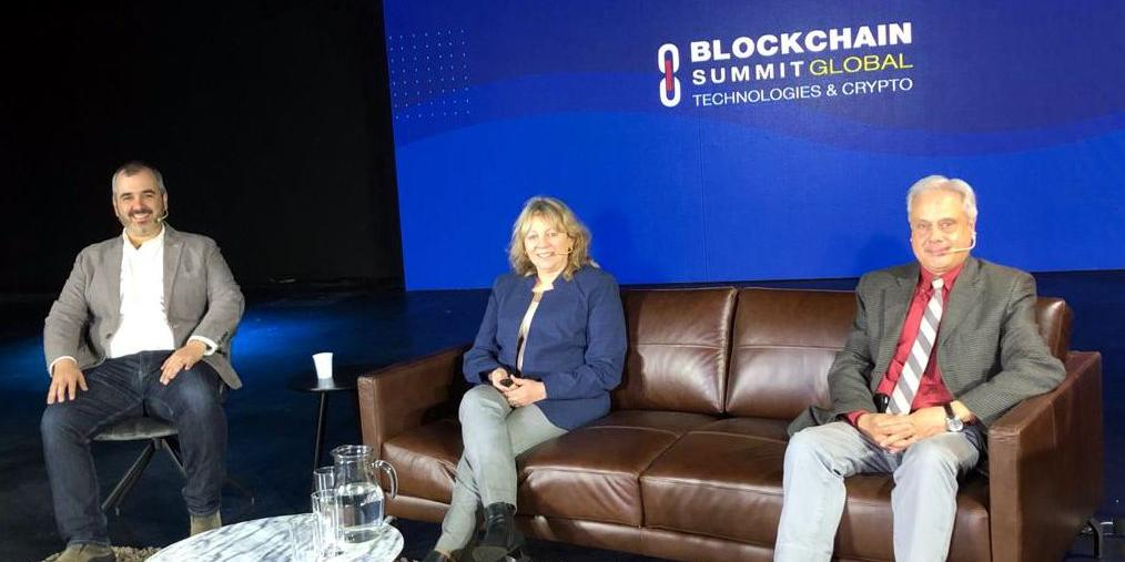 Evento blockchain